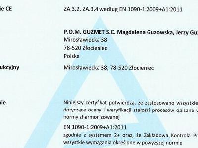 Certificate FPC 1090 PL